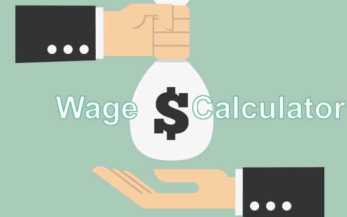 Hourly to Salary - Wage Calculator